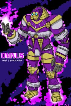 Omnus the Unmaker by admiralducksauce