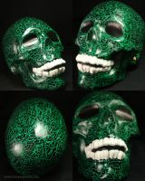 The Green Skull by OKAINAIMAGE