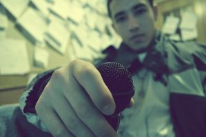 Live from the Mic by skullkid4900
