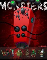 OMG Monsters by IconBlock