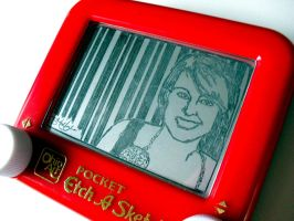 Facebook Etch: Katie by bryanetch
