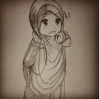 yui hijab version  by aminart114