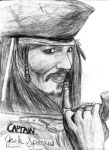 Captain Jack Sparrow by AinuLaire