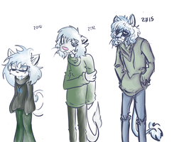 Nystagmus over the years by HenryJDoe