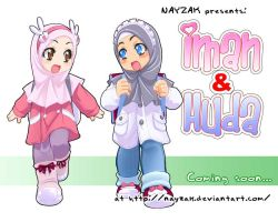 Iman and Huda - coming soon- by Nayzak