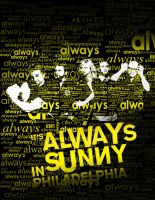 Always Always Sunny in Philly by Bandomus