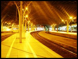 Cologne Train Station by xLnd