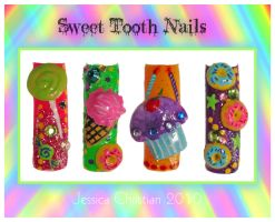 Sweet Tooth Nails by Jessi9999