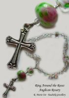 Ring Around the Roses Rosary by zephyrofgod