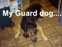 My Guard Dog by TheThoughtfulOne