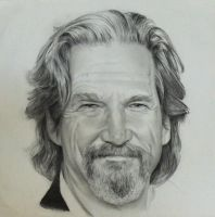 Jeff Bridges by akalinz