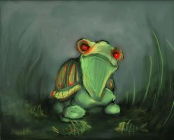psycho turtle unf by lilfrog