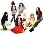 It Girls by muse33