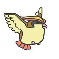018 pidgeot by pinkbunnii