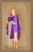 Sheila the thief. Dungeon and Dragons. Ancient by EscribaRegio