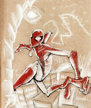 Living on the Edge, Fighting Crime, Spinning Webs by PhilVzQ