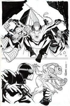 SPIDER-VERSE TEAM-UP cover by BroHawk