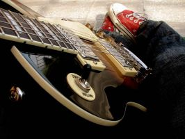 electric guitar by Elendess