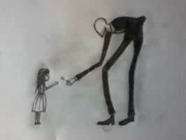 Slenderman by Meekieuniquie