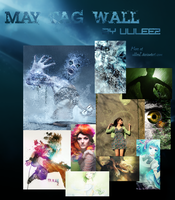 May Tag Wall by Ulilee2