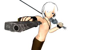 Shirtless Dante for MMD DL by Nikoman3344