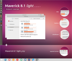 Maverick 8.1 light for Windows 8.1 by dpcdpc11