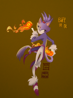 Blaze the cat by Belen-1999