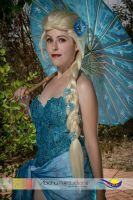 Summer Elsa cosplay Frozen by MissWeirdCat