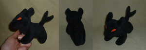 Mini magnet plush: Seth animal by goiku