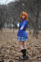 Honoka Kousaka from Love Live by JessDCosplayUSA