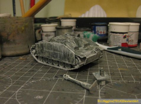 ArmourFast 1/72 Stuh 42 WIP3 by Tank-Dragon2014