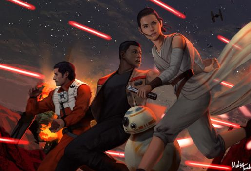 The Force Awakens by MeTaa