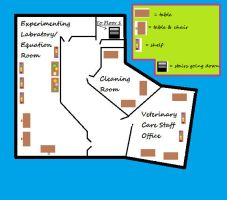 Arizona Animal Testing Facility FH Map Floor2 Plan by xPuRfectDiSastRx
