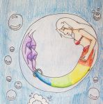 Sleeping in a Bubble by Punisher2006