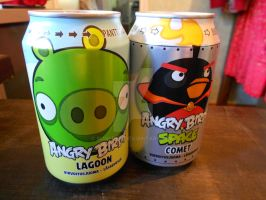 More Angry Birds soda!!! by Wolfwoman24