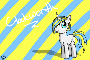 Clockworth OC {Request} by TheAlmightyDove