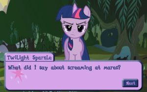 MLP Quest of Memories Screenshot 2 by SonicFFVII