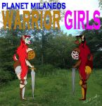 Planet Milaneos Warrior Girls by animec20
