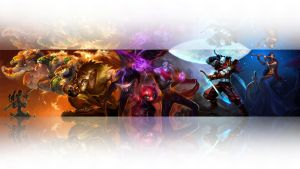 League of legends wallpaper - Ionia 2 (white) by Desorienter