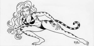 Tigra by RichBernatovech