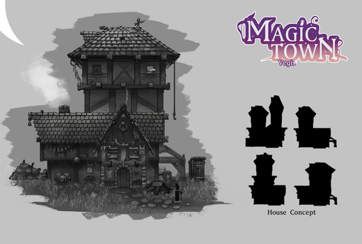 Magic Town House Concept by SunYo