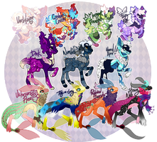 {Auction} - Skullcrackers And Fish by PhloxeButt
