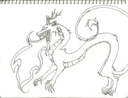 Alexander in Dragon form... by dracarysis