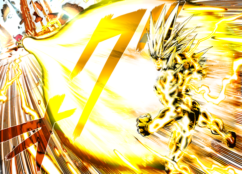 One Punch Man- Blast From Hell by ShugotenshiX