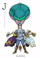 J is for jayce and the wheeled warriors by mdavidct