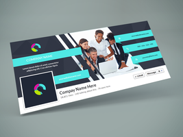 Freebie - Facebook Cover PSD Design Template by GraphBerry