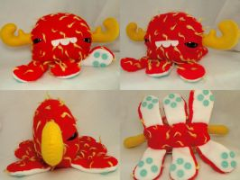 Baby Monstroctopus- Irgby by loveandasandwich