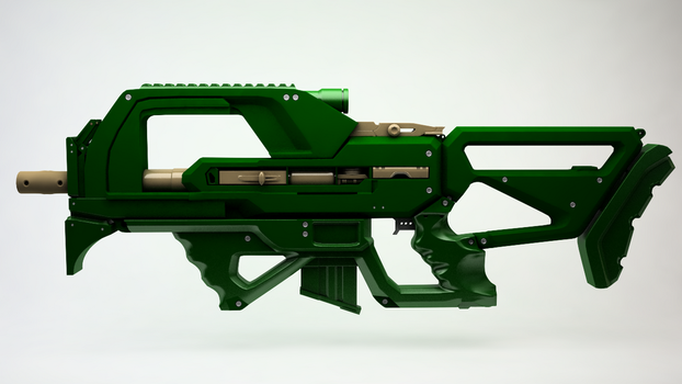 Assault Rifle1 by karlanemperor