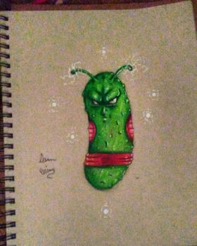 piccolo the serious pickle  by xprotector10