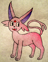 AT: Espeon by MysteryBeliever-KJB